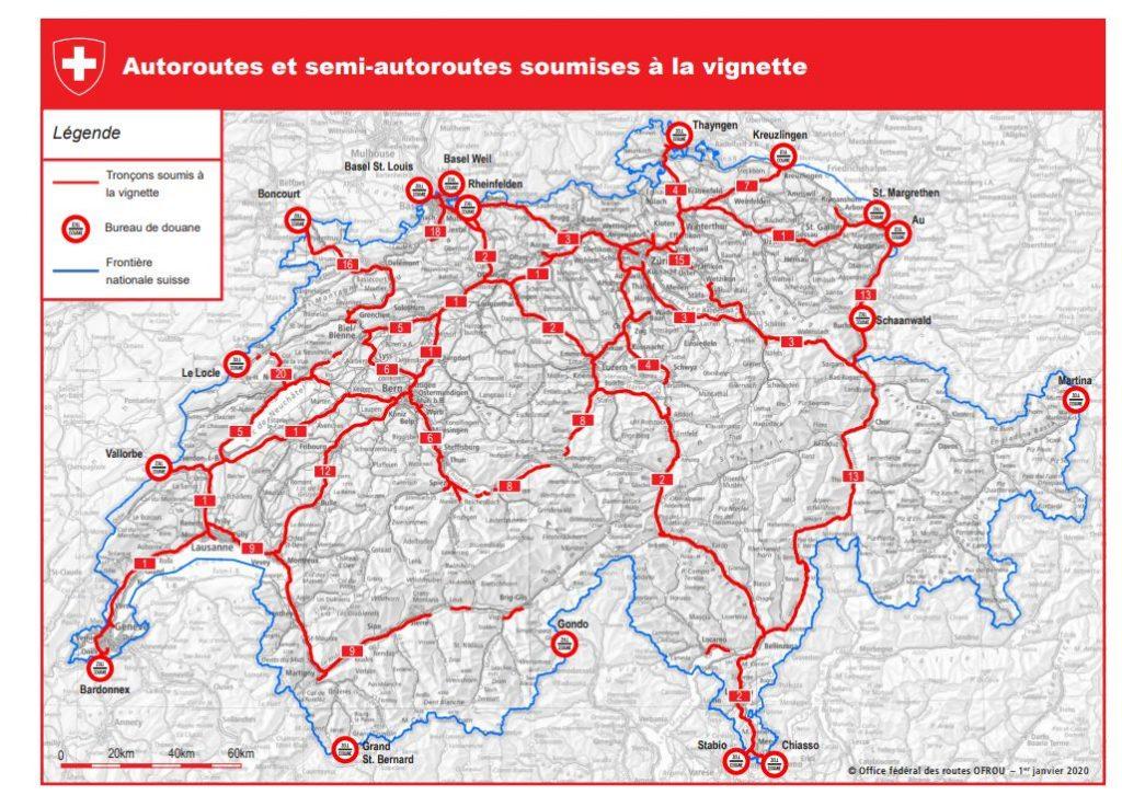 Autoroute Suisse vignette