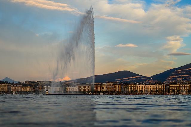 Jet d'eau de Geneve