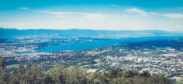 Ville de Genève et le Lac Léman